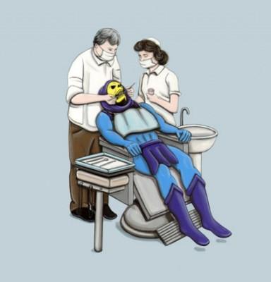 Skeletor x The Dentist