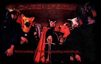 Church of Satan - web splash