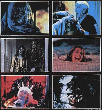 Creepshow VHS Back Cover