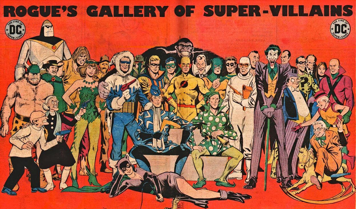 DC Rogue's Gallery of Super-Villains