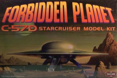 Forbidden Planet Star Cruiser Model Kit