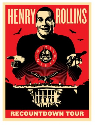Henry Rollins - Recountdown Tour