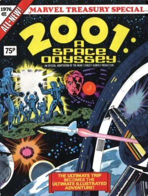 2001: A Space Odyssey - The Comics - Jack Kirby's Cover Art