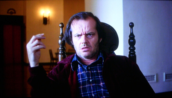 """Jack: """"What?"""" - The Shining"""