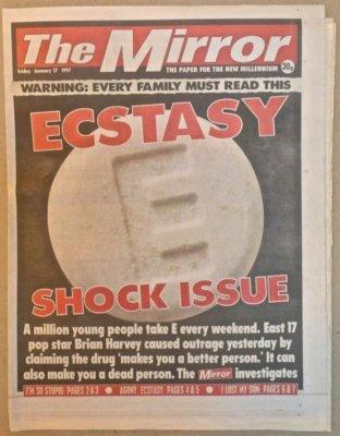 Mirror Ecstasy Shock Issue