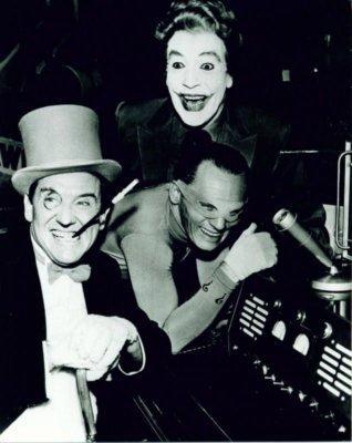 The Penguin, The Riddler, The Joker