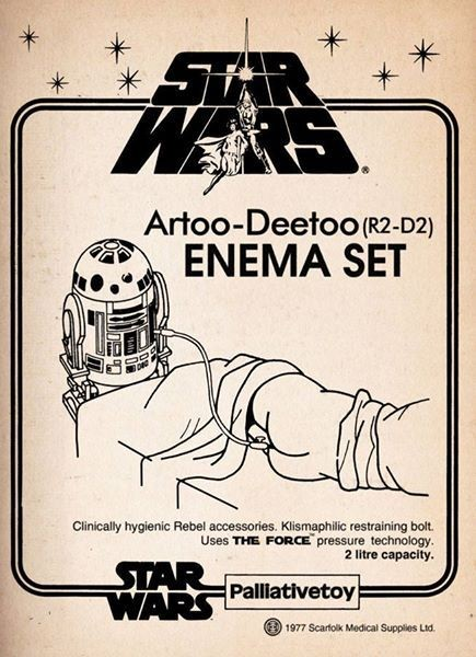 R2-D2 Enema Set