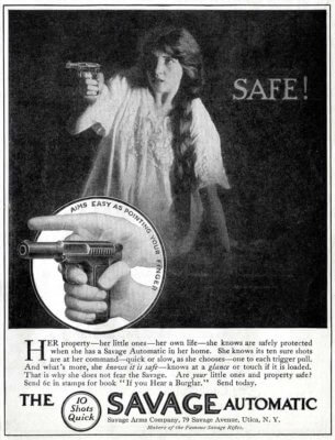 Safe! The Savage Automatic