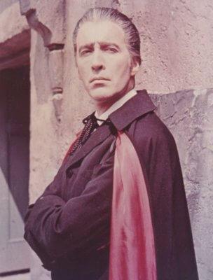 Sir Christopher Lee as Count Dracula