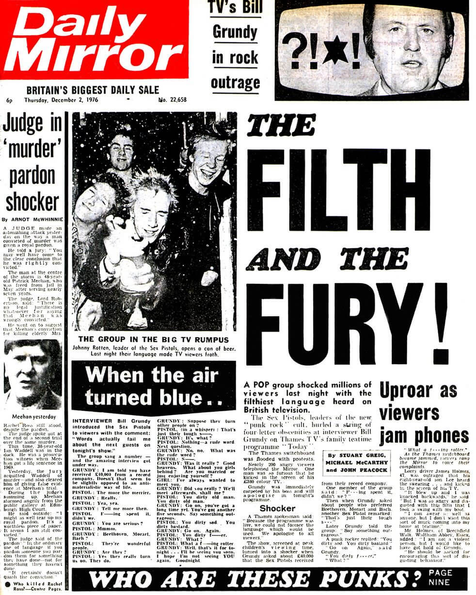 The Filth and The Fury