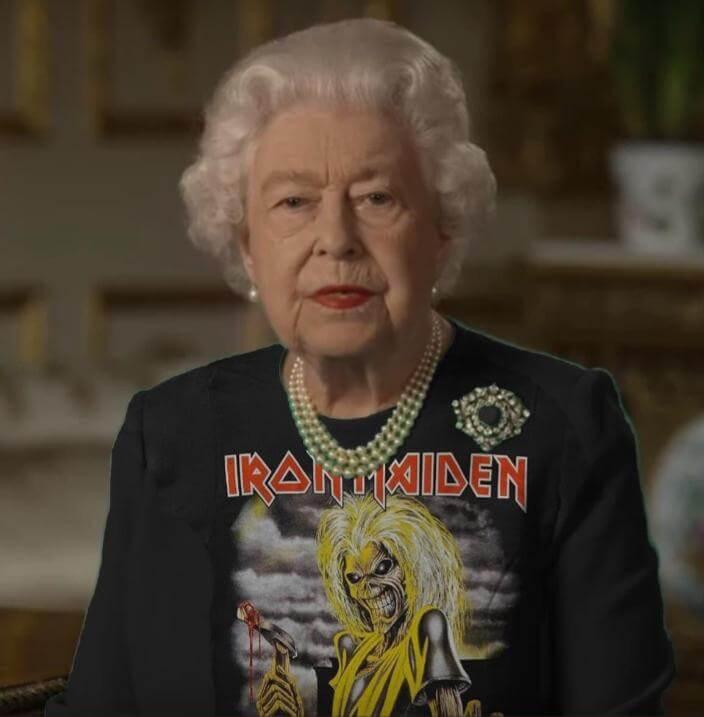 The Queen x Iron Maiden