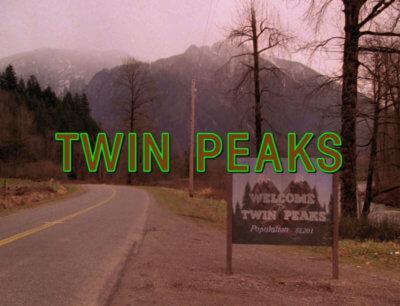 Twin Peaks Opening Title Screen