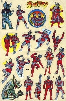 Ultraman Stickers
