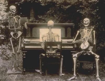 Vintage Skeleton Band