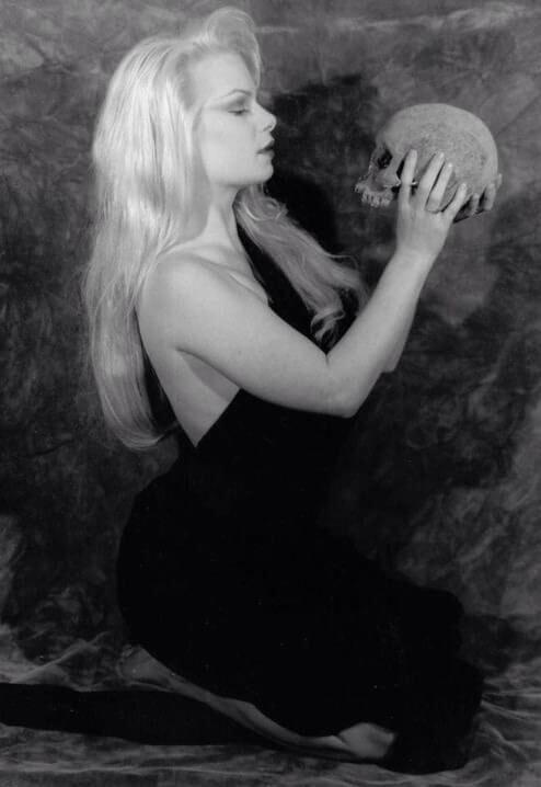 Zeena Lavey and Skull